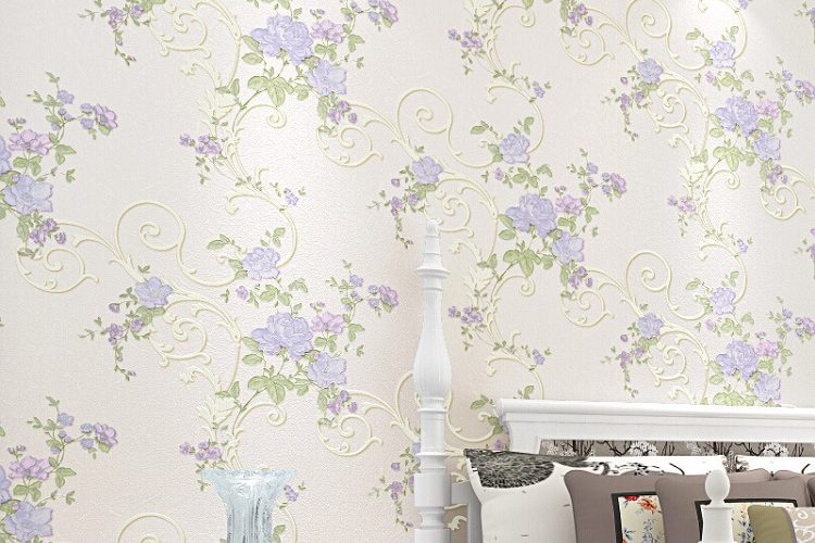 Have Your Walls Speak Stories with Flower Wallpapers