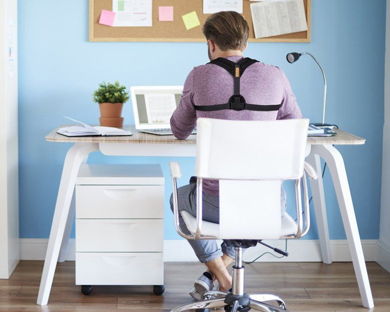 posture correcting office chair