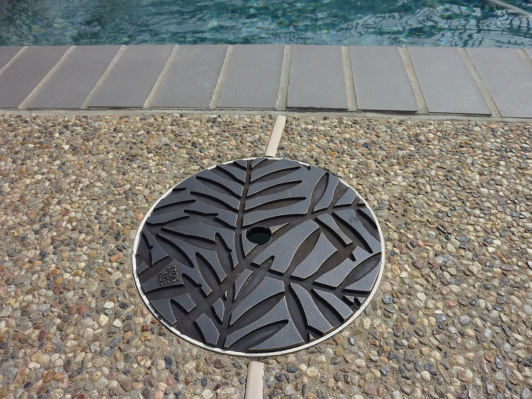 swimming pool skimmer lid