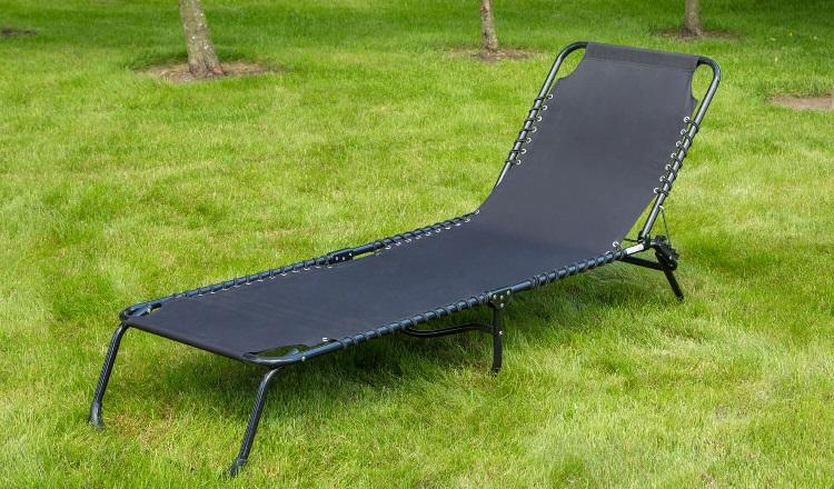 folding sun bed