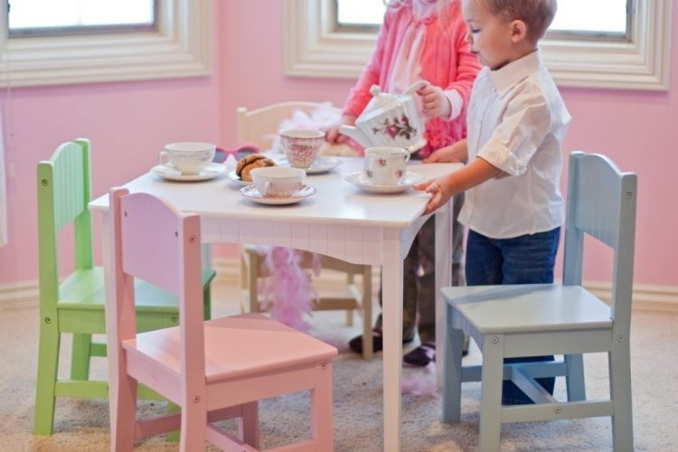 Kids' Table & Chair Set – Imaginary Play Wouldn't be Complete Without It
