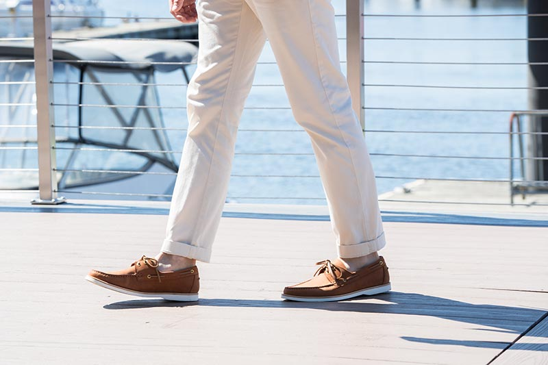 boat shoes male