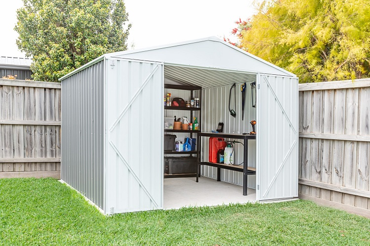 Listing the Perks of Metal Garden Sheds