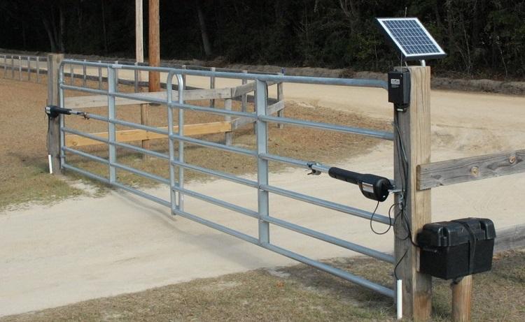 solar gate opener online