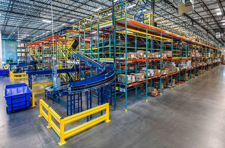 Warehouse Organization shelves