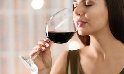 Women Drinking Organic Wine