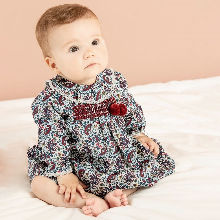 Comfortable and functional baby dress
