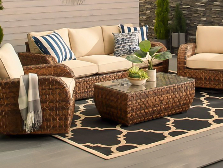 outdoor furniture lounge set patio