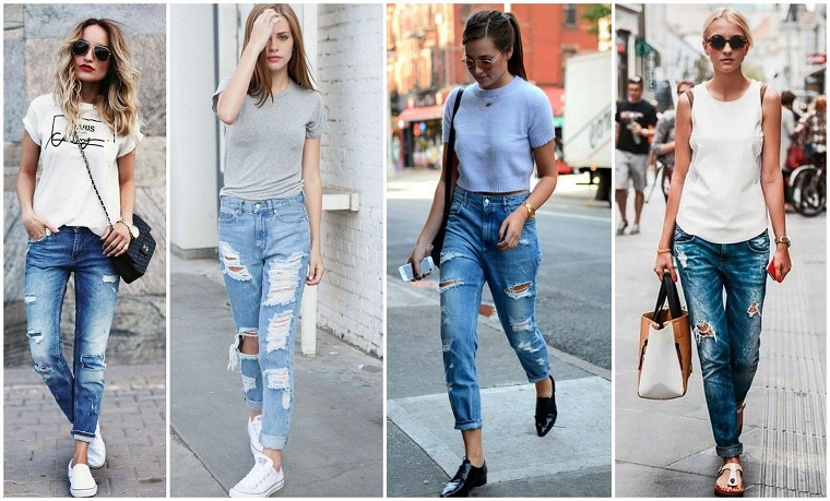 Different types of jeans