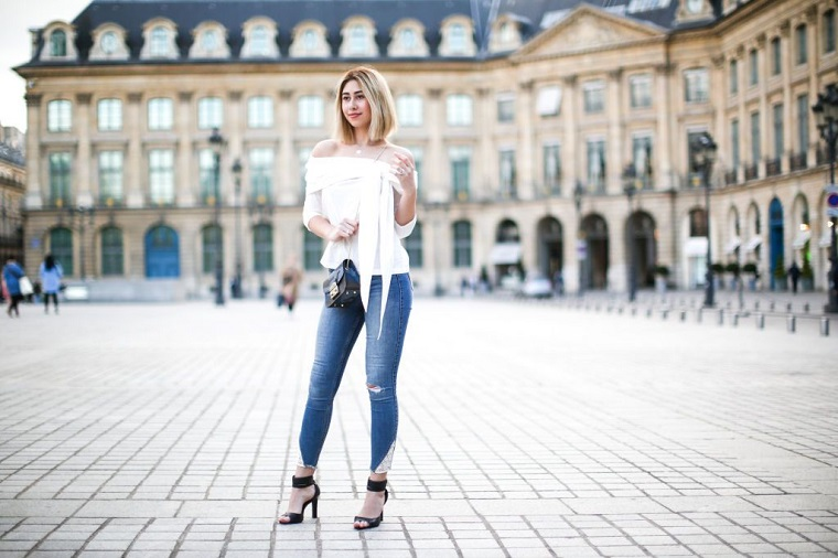 Lady's jeans
