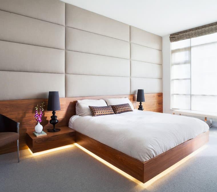 led lights under bed