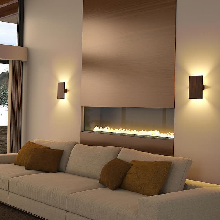 led wall sconces for living room