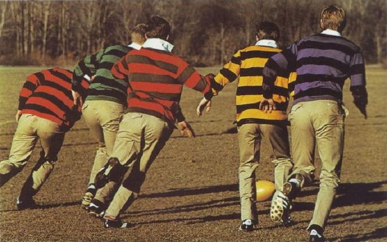 History and styles mens rugby shirts