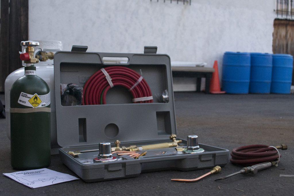 oxy acetylene gas welding equipment