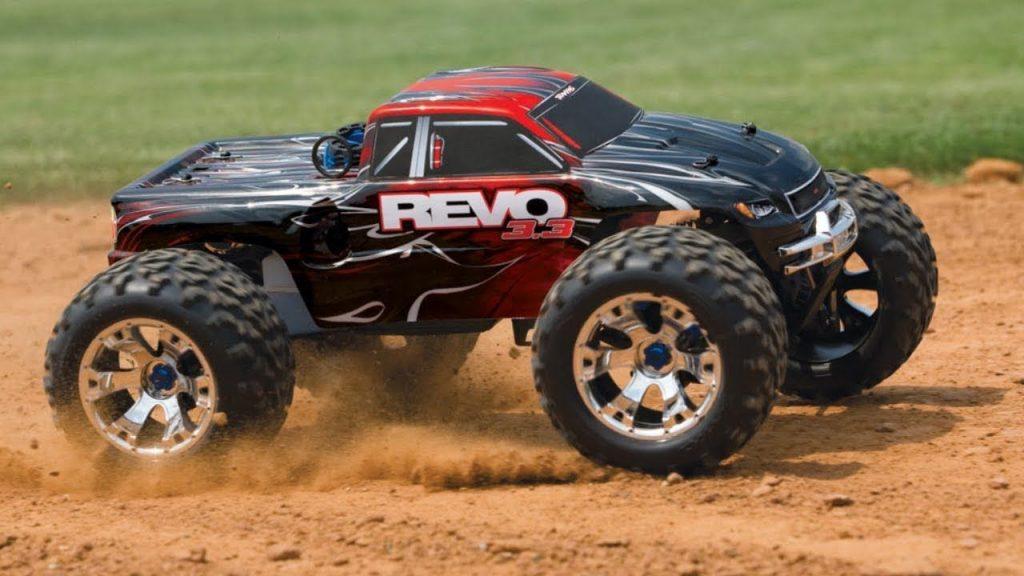 rc monster truck outdoor